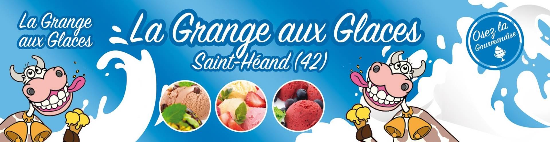 Nos produits glacés près de Saint-Étienne | La Grange aux Glaces