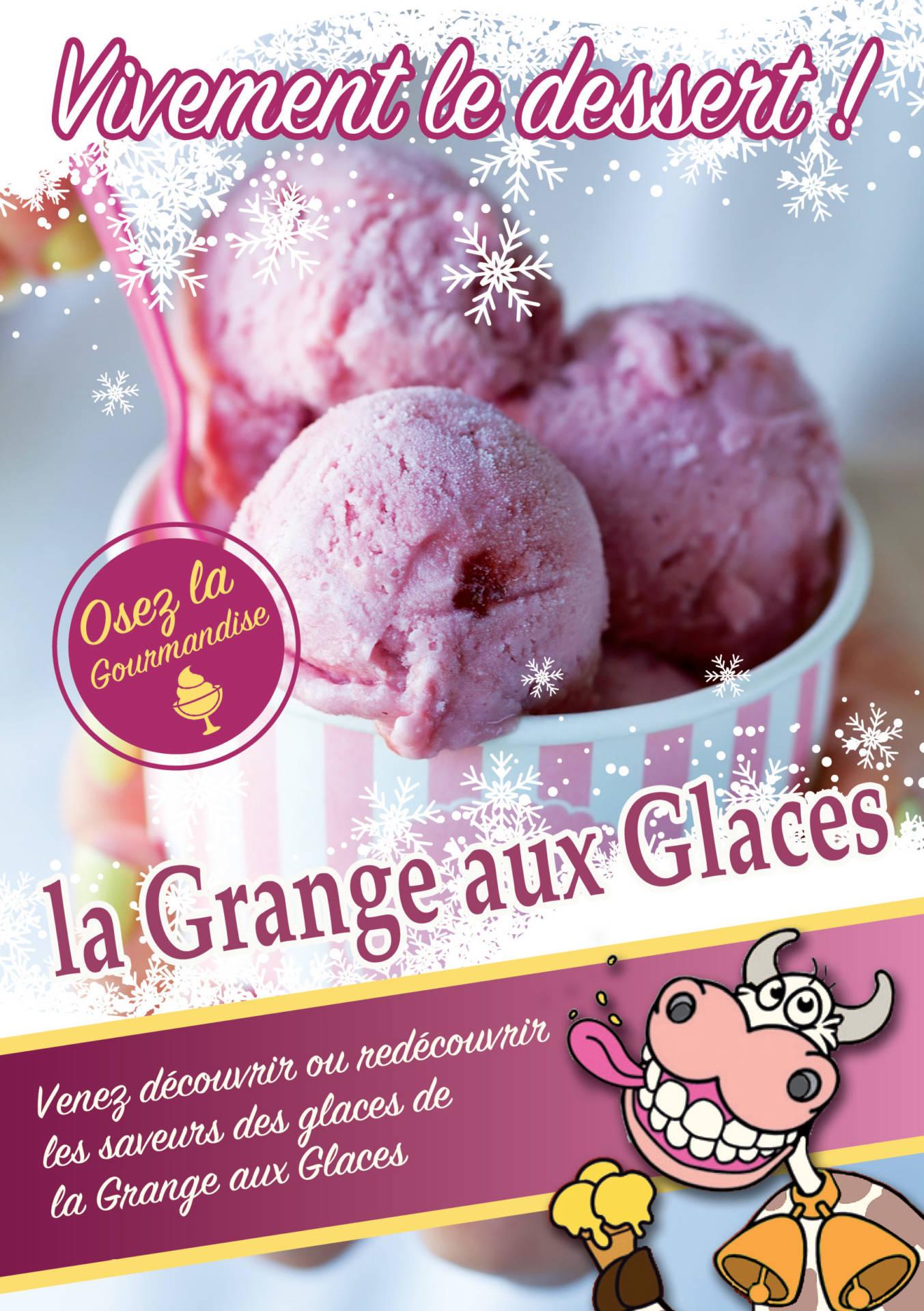 Un large choix de desserts glacés chez votre glacier près de Saint-Étienne | La Grange aux Glaces